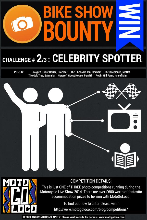 Celebrity Spotter photo challenge