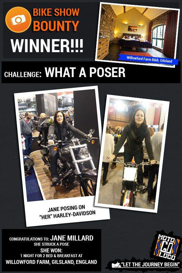 Winner Jane Millard