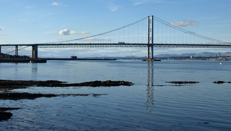 The Forth Road Bridge is 50