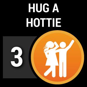Hug a Hottie photo challenge