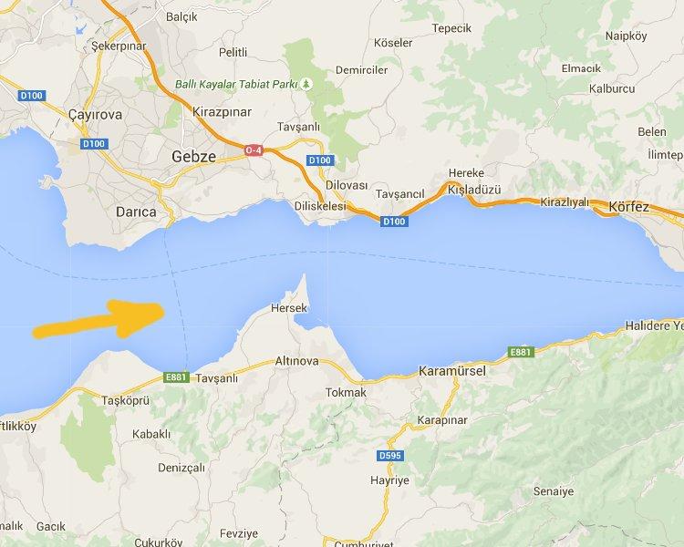 Turkey ferry issue Google Maps
