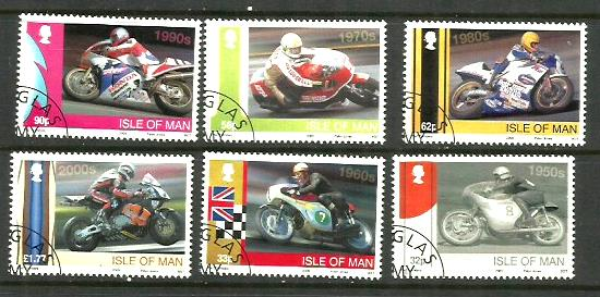 Isle of Man TT stamps
