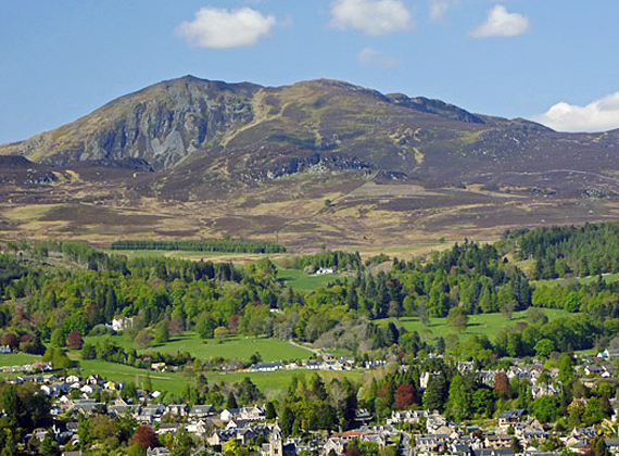 Views of Pitlochry
