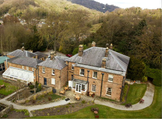 Alison House Hotel - Aerial Shot