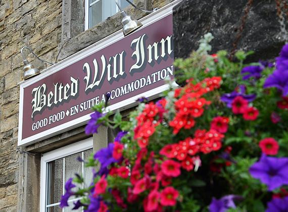 Belted Will Inn flowers