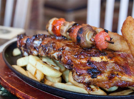 Beef Tub Comfort Grill - Rack of ribs