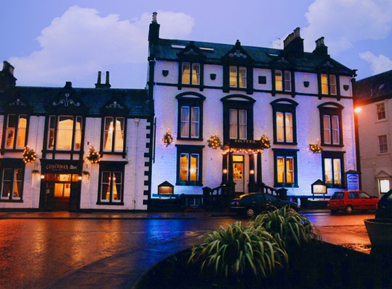 The Buccleuch Arms Hotel, Moffat