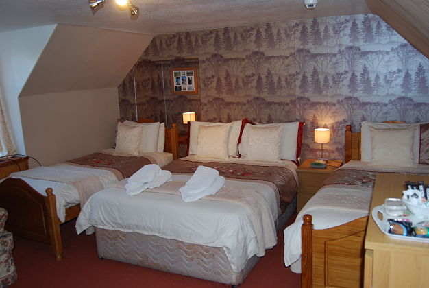 Spacious Triple Room