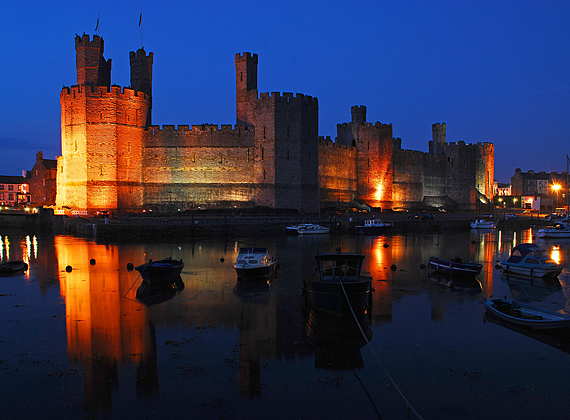 10 mins from Caernarvon Castle (Photo by Andrew D Hurley)