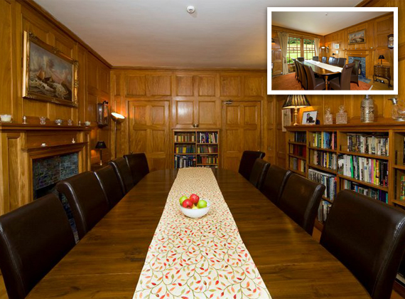 The Library - Suitable for smalll meetings and special occasions