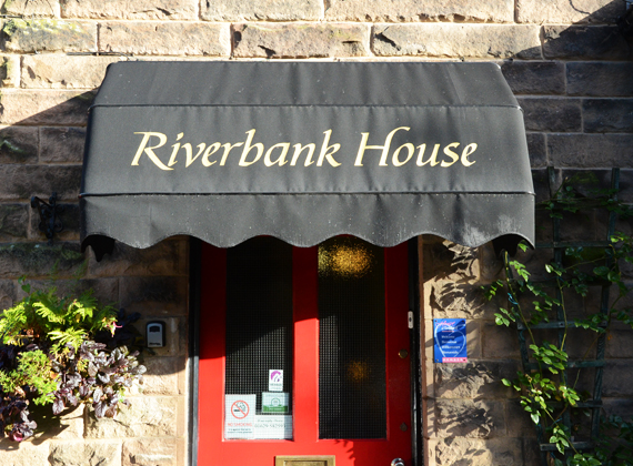 Riverbank Guest House Entrance