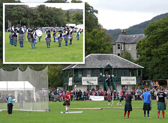 Highland Games in Pitlochery