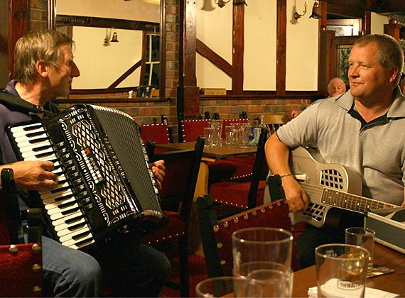 Bilsdale Folk, Local Talents, Keith Benson and Les Ransom - Simon Cowell eat yer heart out!