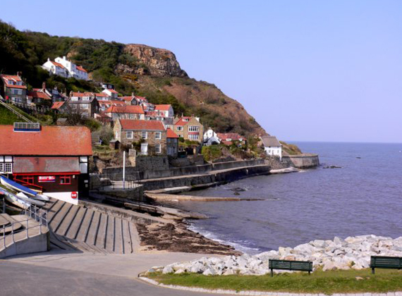 View of Runswick Bay